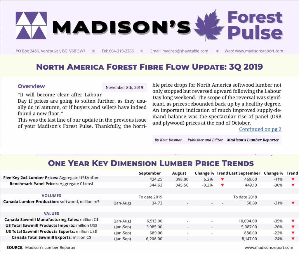 Madison's Forest Pulse Promo 3Q 2019