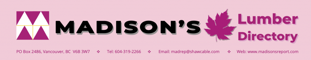 Madison's Sawmill Listings Directory